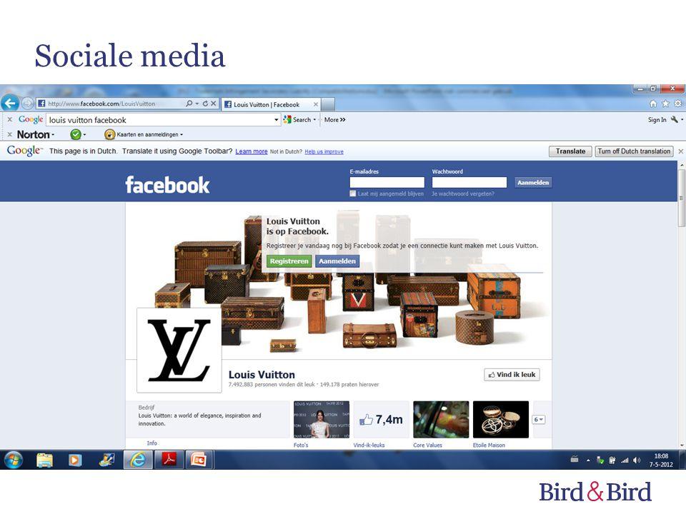 © Bird & Bird LLP 2012