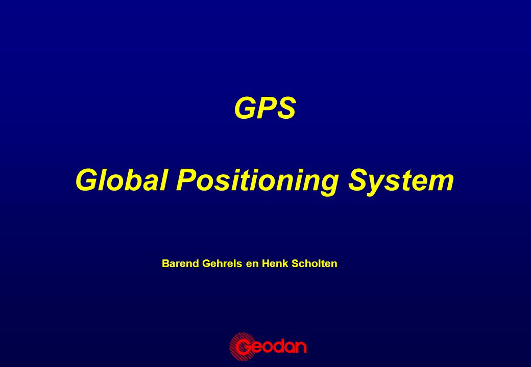 Andere positionerings systemen The Ericsson Mobile Positioning System (MPS) –Positionering d.m.v.