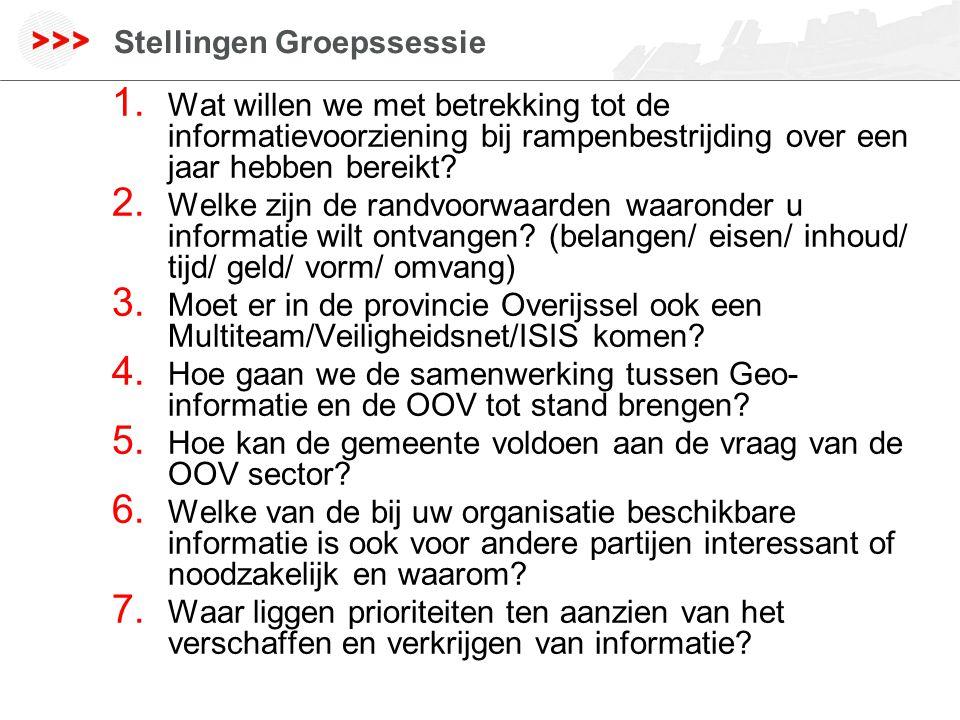 www.geodan.nl Stellingen Groepssessie 1.