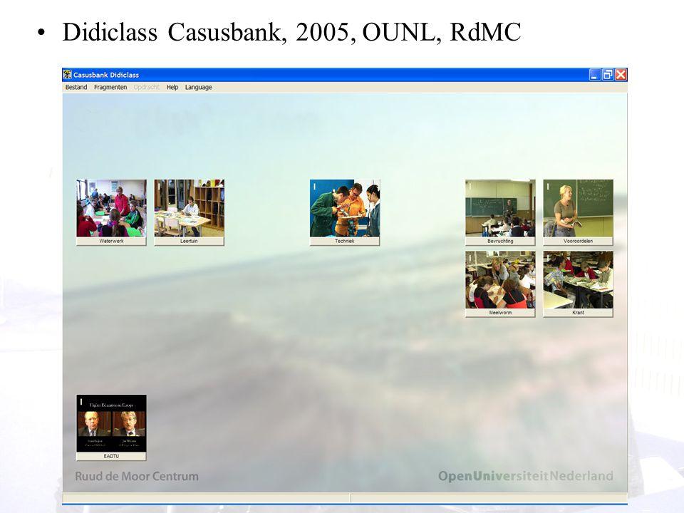 16 Didiclass Casusbank, 2005, OUNL, RdMC