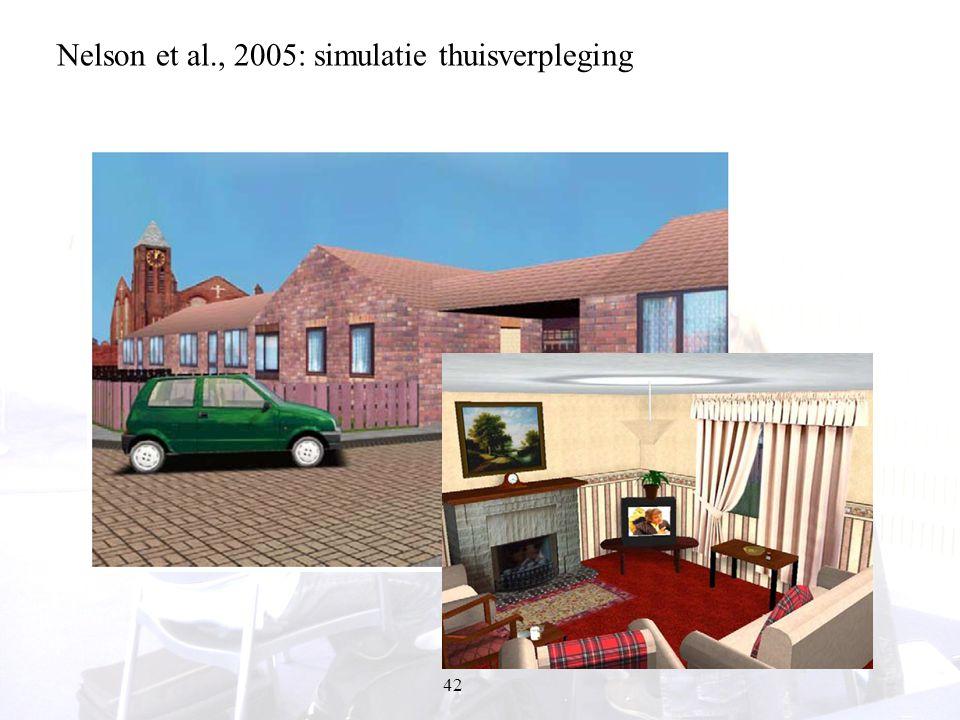 42 Nelson et al., 2005: simulatie thuisverpleging