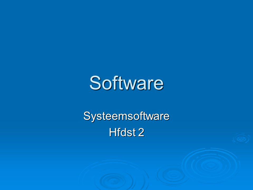 relatie Computer en randapparatuur Systeemsoftware Toepassingssoftware Gebruiker