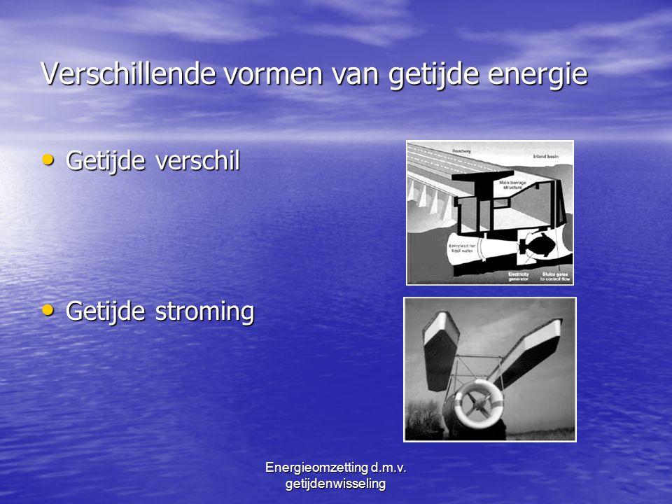 Energieomzetting d.m.v. getijdenwisseling Vragen ???