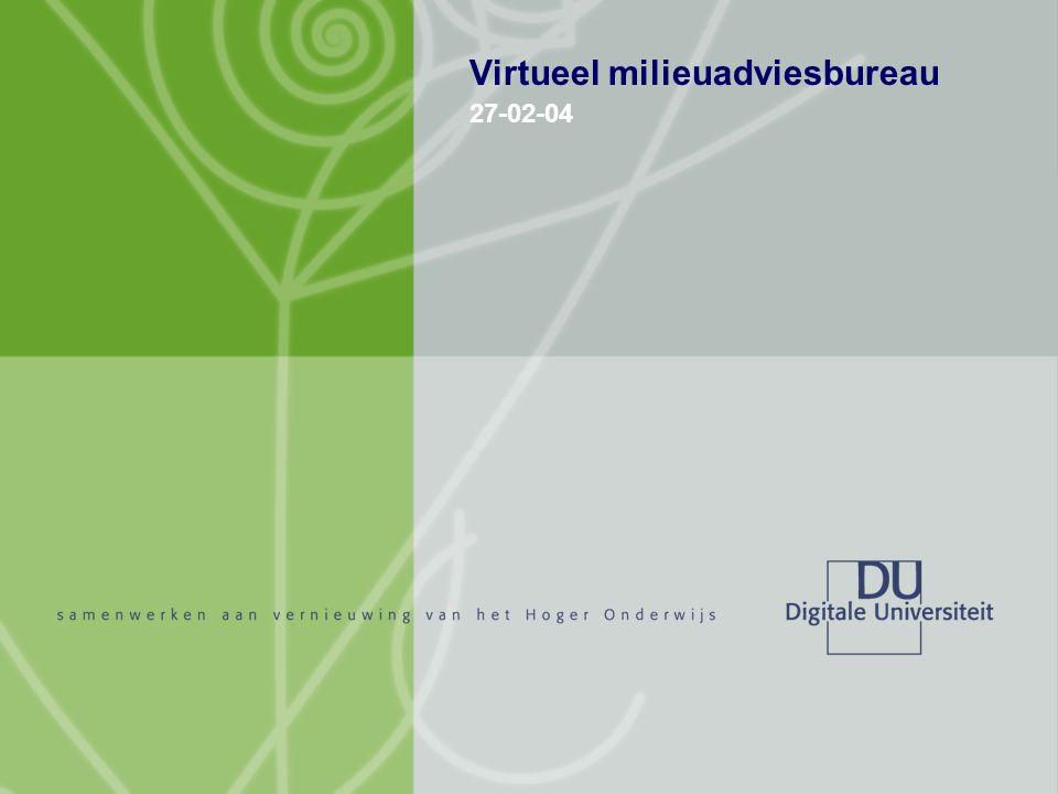 27-02-04 VMAB Virtueel milieuadviesbureau 27-02-04