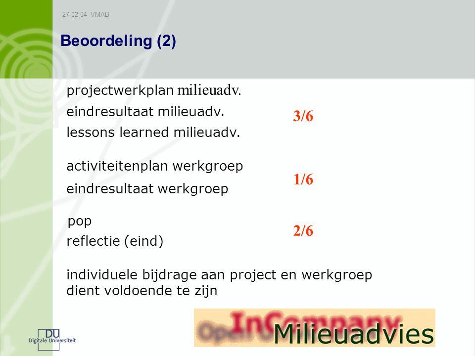 27-02-04 VMAB Beoordeling (2) projectwerkplan milieuadv.
