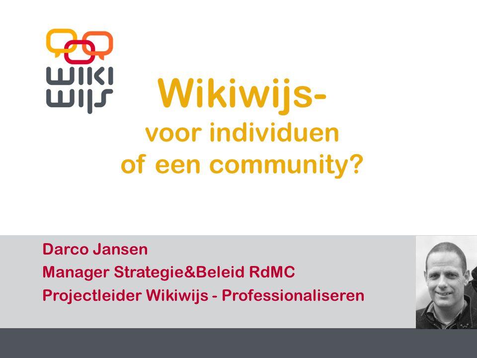 29-7-20141 1 Wikiwijs- voor individuen of een community.