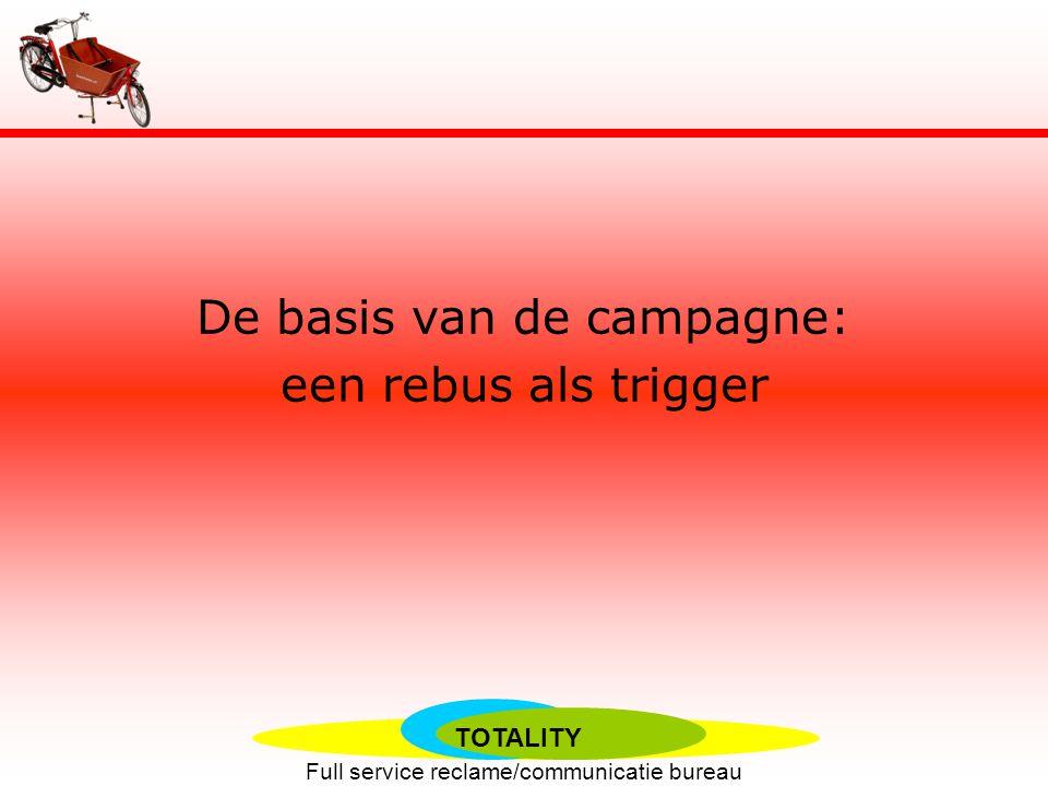 TOTALITY Full service reclame/communicatie bureau Bakfietsreclame