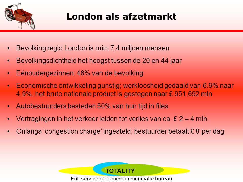 TOTALITY Full service reclame/communicatie bureau Motivators vs.