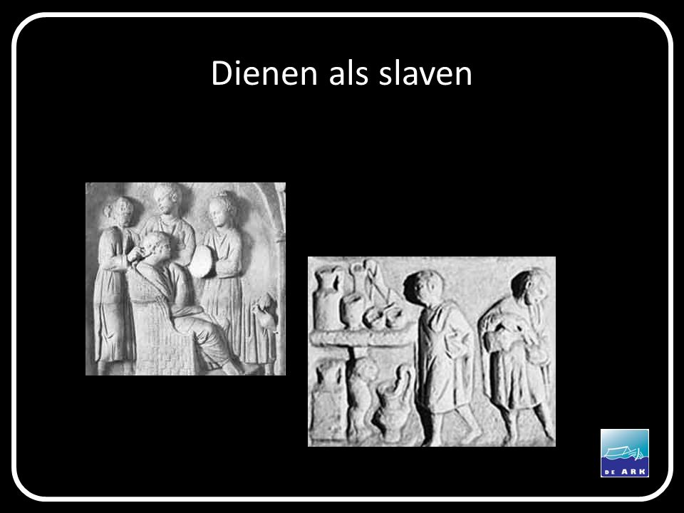 Dienen als slaven