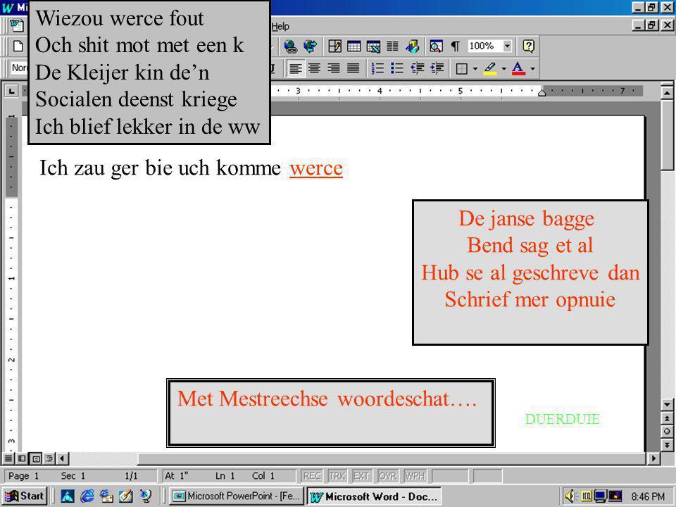Schrief-programma, kense een breef met tike Solli.exe Socialen deenst versie 3.elf718.jg Wie mos dat oach wer sollicitere...