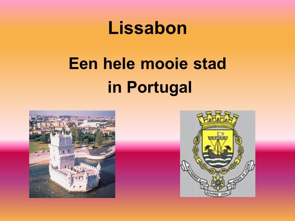 Lissabon Een hele mooie stad in Portugal