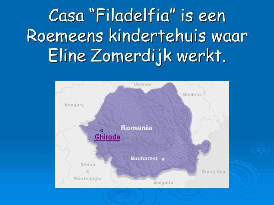 """Casa """"Filadelfia"""" is een Roemeens kindertehuis waar Eline Zomerdijk werkt."""