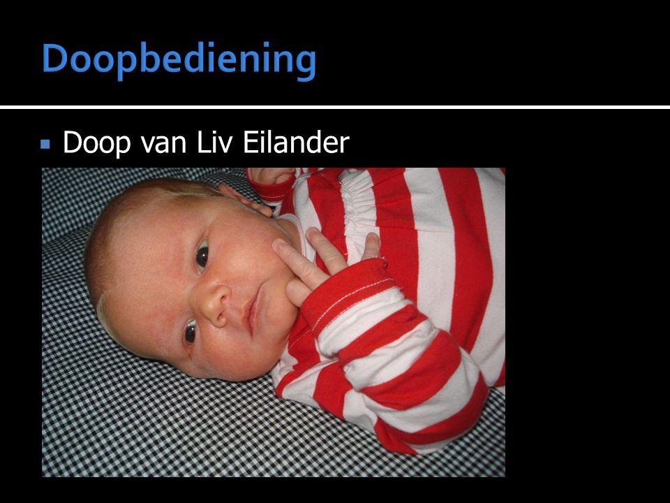  Doop van Liv Eilander