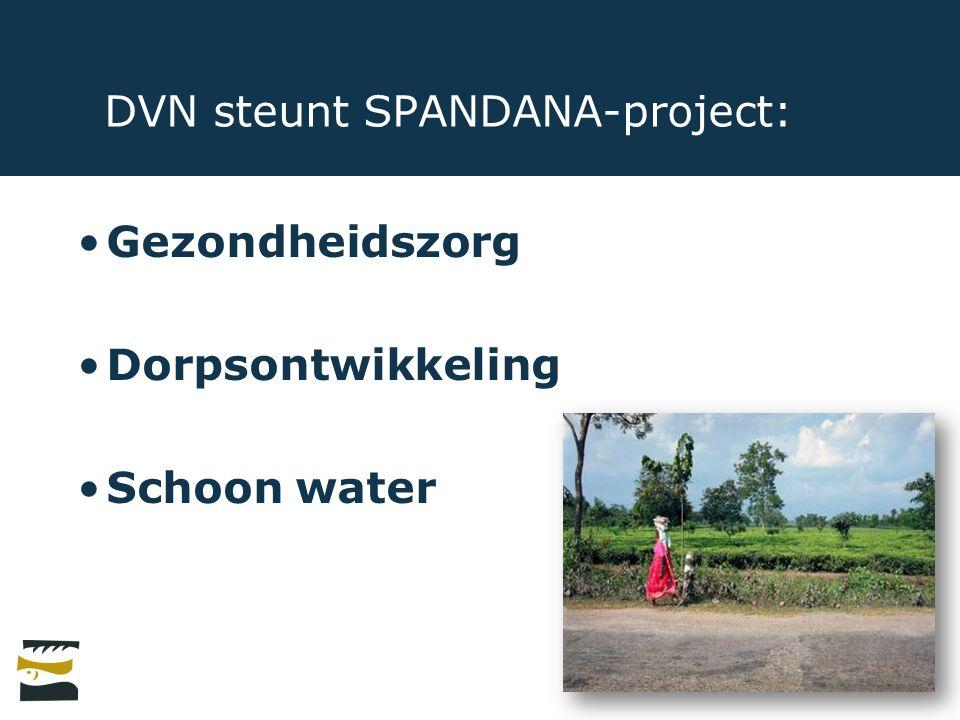 DVN steunt SPANDANA-project: Gezondheidszorg Dorpsontwikkeling Schoon water