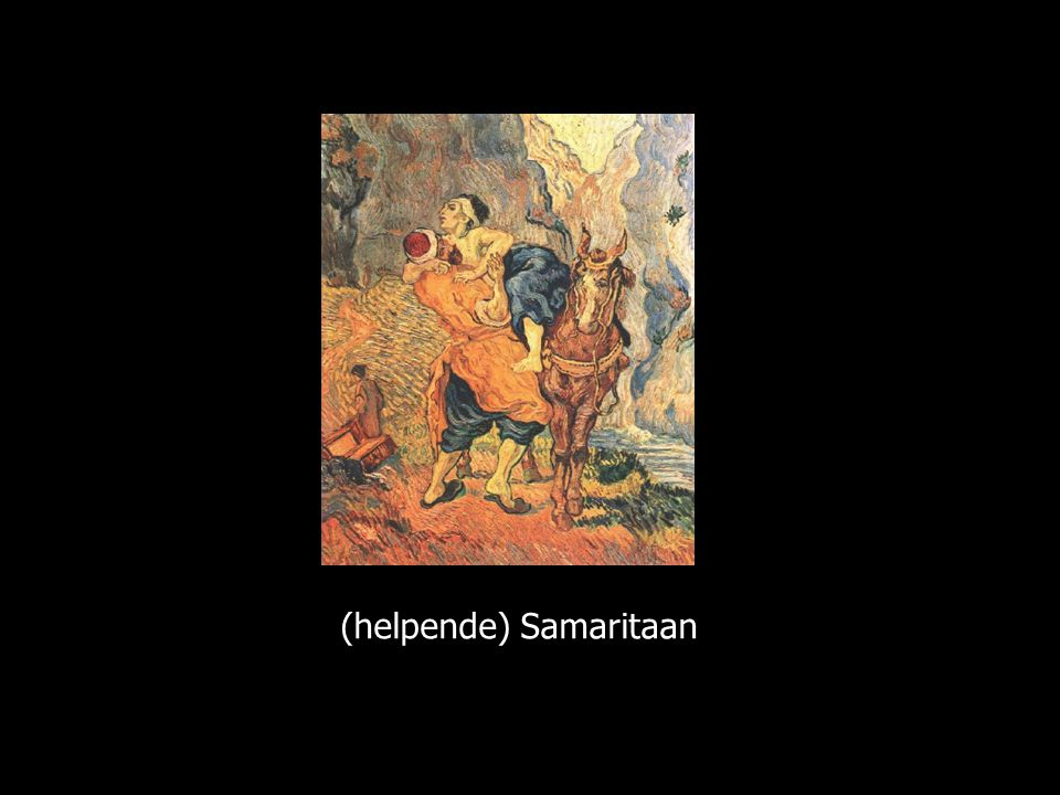 (helpende) Samaritaan
