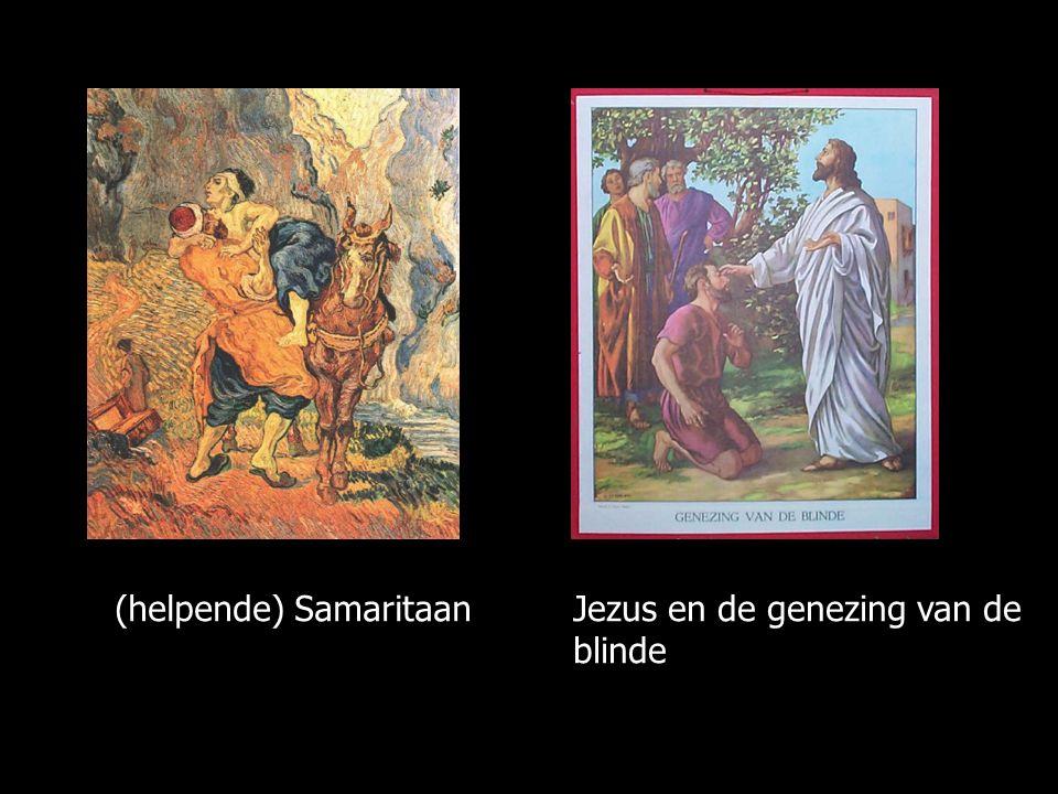 Jezus en de genezing van de blinde