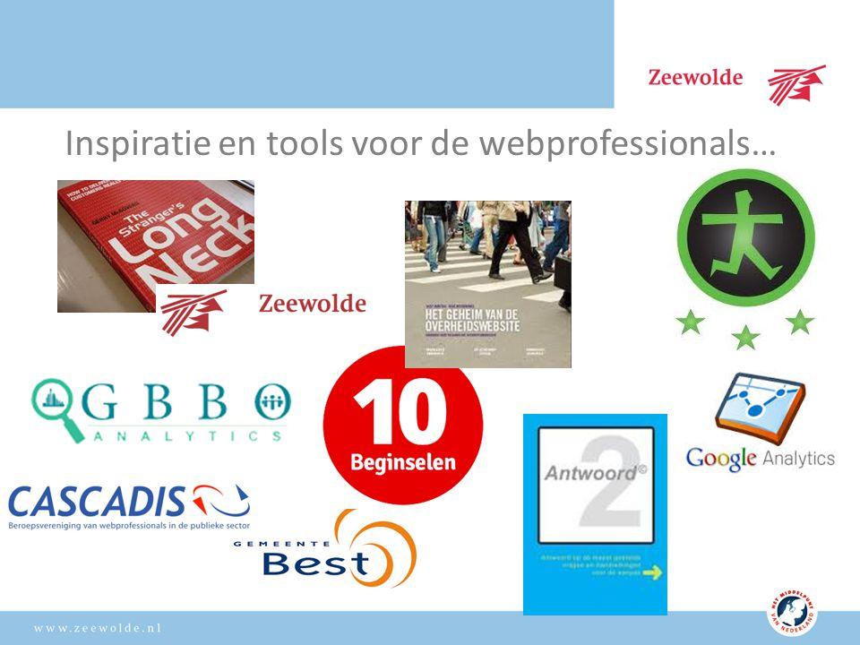 Inspiratie en tools voor de webprofessionals…