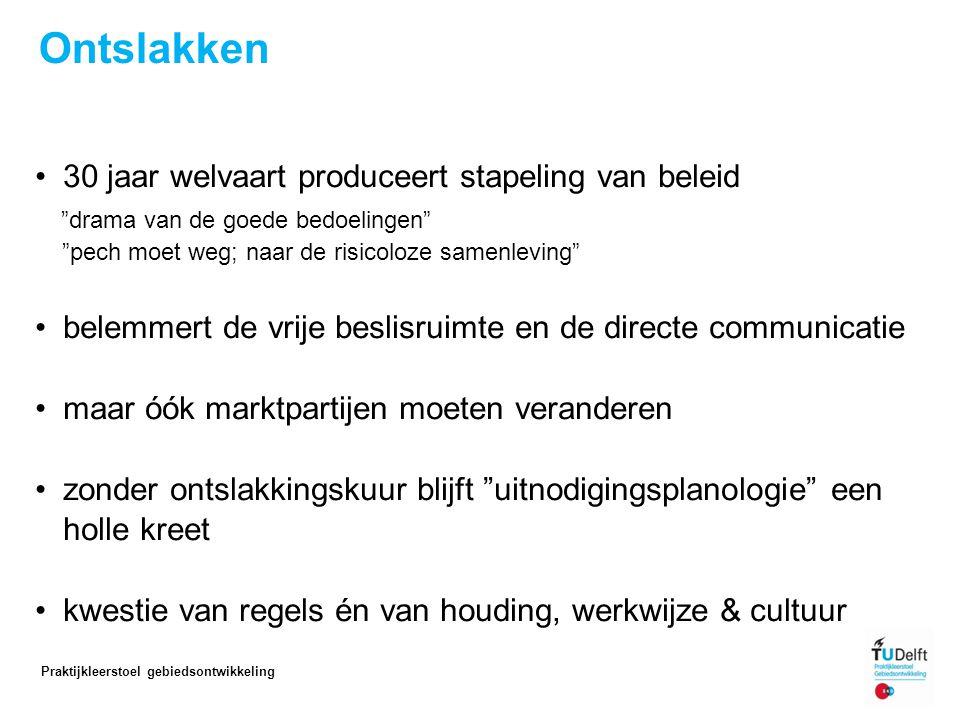 Ontslakken in Eindhoven: Praktijkleerstoel gebiedsontwikkeling