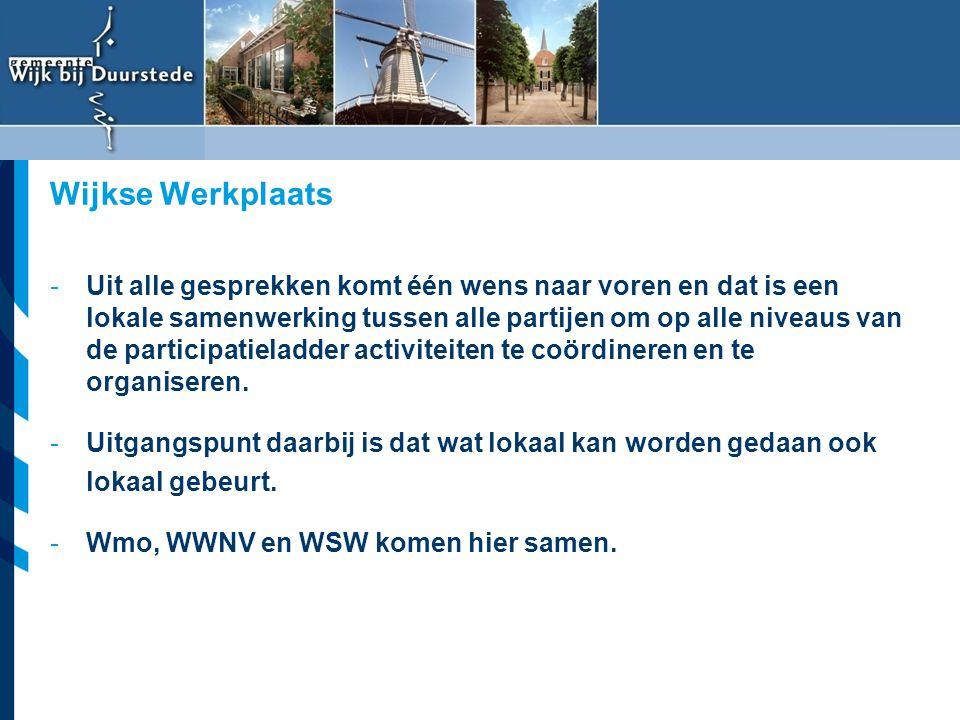 Vereniging van Nederlandse Gemeenten -Uit alle gesprekken komt één wens naar voren en dat is een lokale samenwerking tussen alle partijen om op alle n