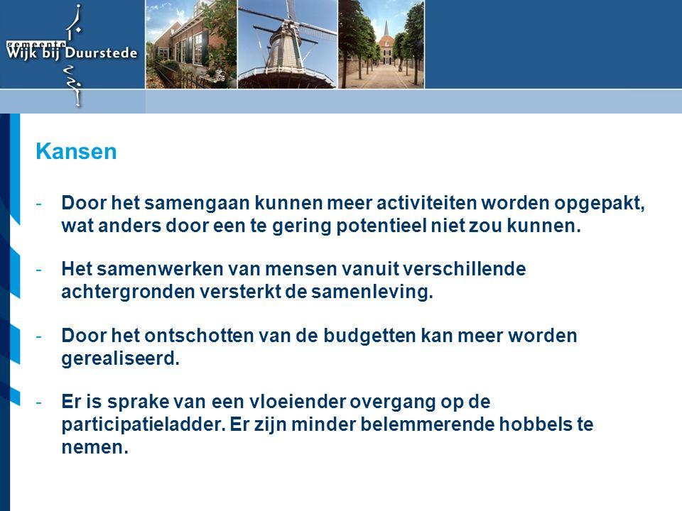 Vereniging van Nederlandse Gemeenten -Door het samengaan kunnen meer activiteiten worden opgepakt, wat anders door een te gering potentieel niet zou k