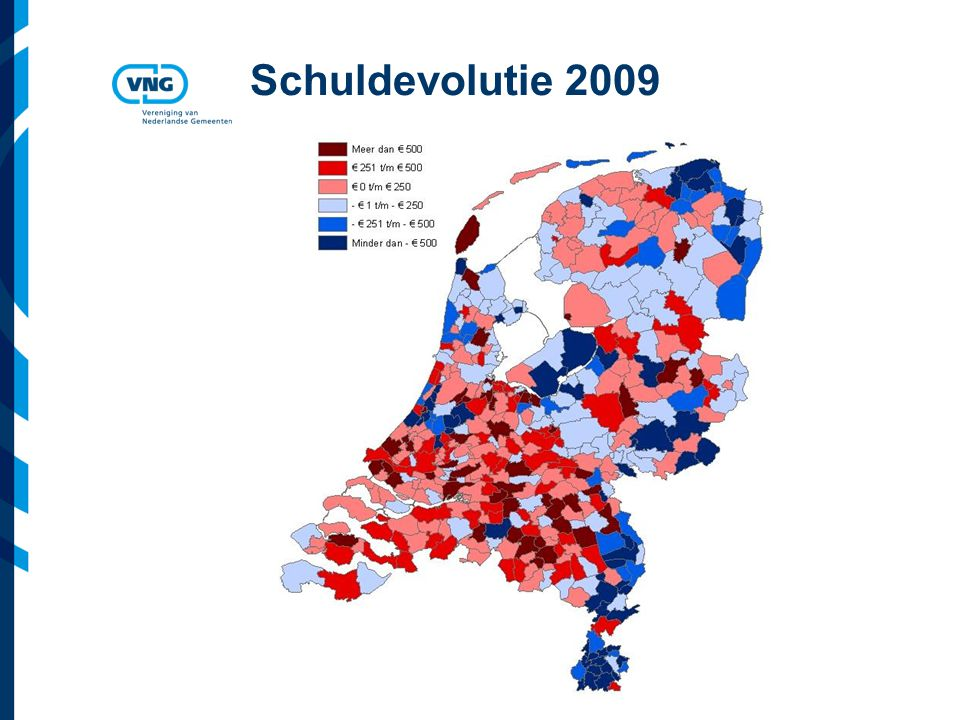 Vereniging van Nederlandse Gemeenten Schuldevolutie 2009