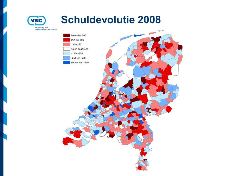 Vereniging van Nederlandse Gemeenten Schuldevolutie 2008
