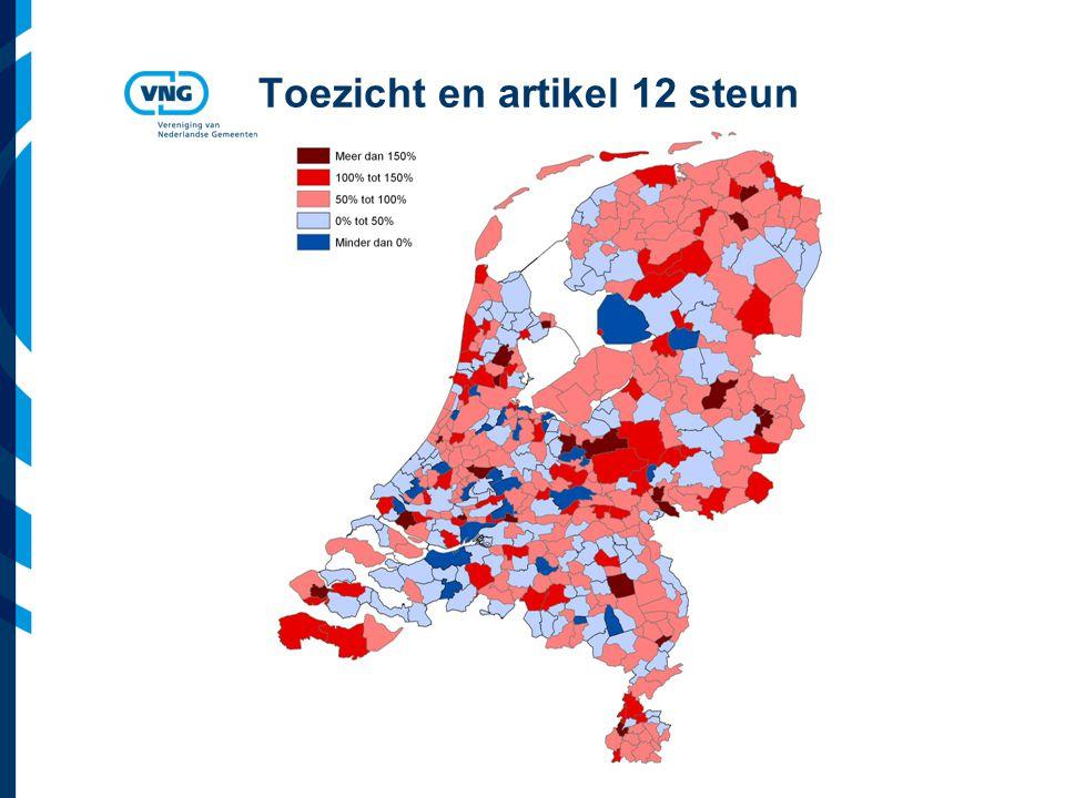 Vereniging van Nederlandse Gemeenten Toezicht en artikel 12 steun