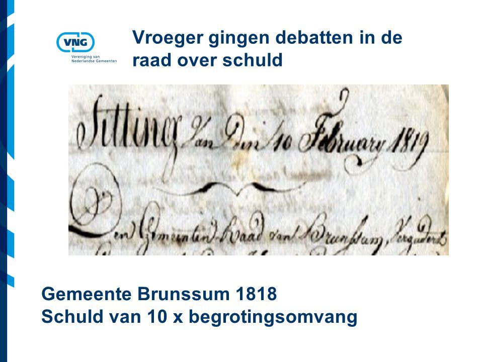Vereniging van Nederlandse Gemeenten Netto schuld : exploitatie 31 dec 2008