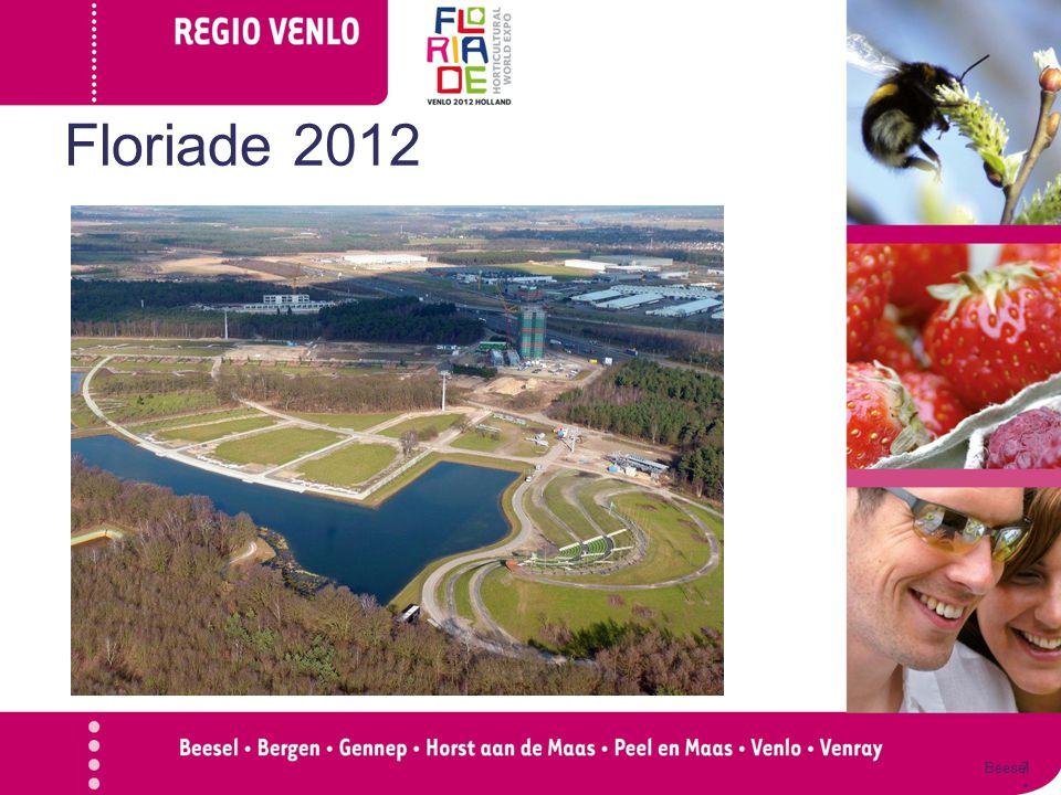 Floriadissimo  Aanleiding 100 jaar Tuinbouw in Straelen Organisatie Floriade Ervaring met project Regio zonder Grenzen 18