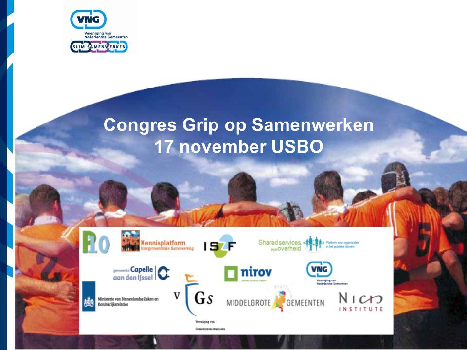 Congres Grip op Samenwerken 17 november USBO