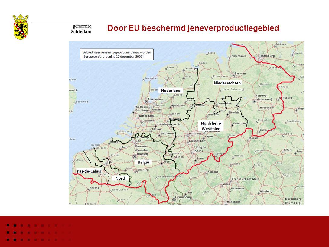 Door EU beschermd jeneverproductiegebied