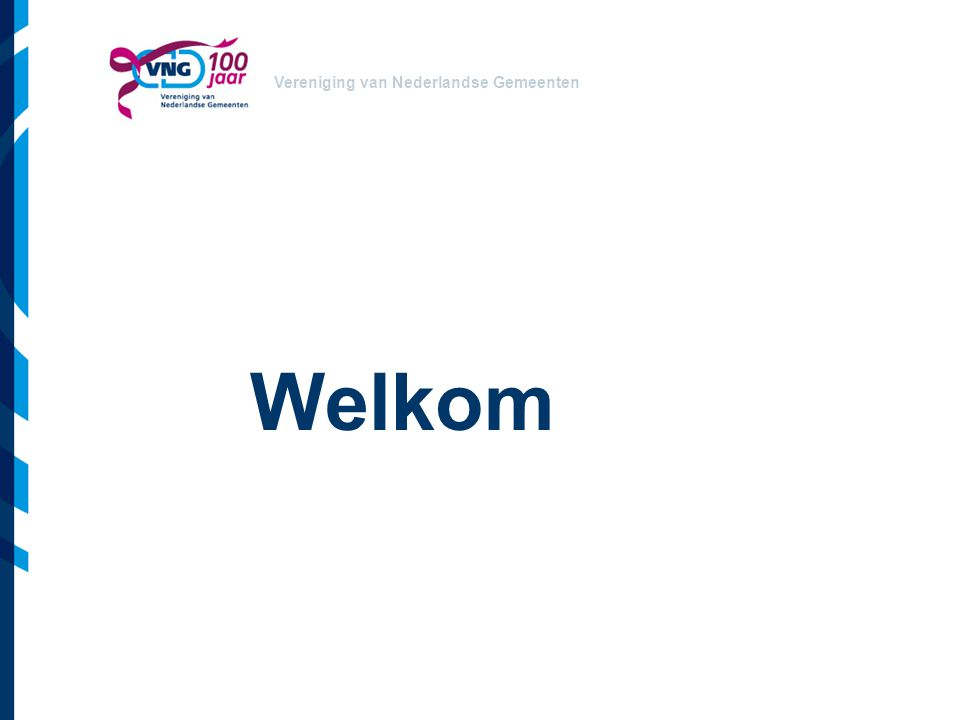Vereniging van Nederlandse Gemeenten Welkom