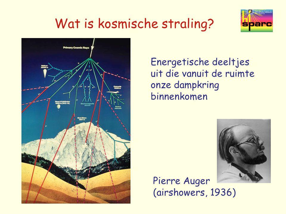 Wat is kosmische straling.