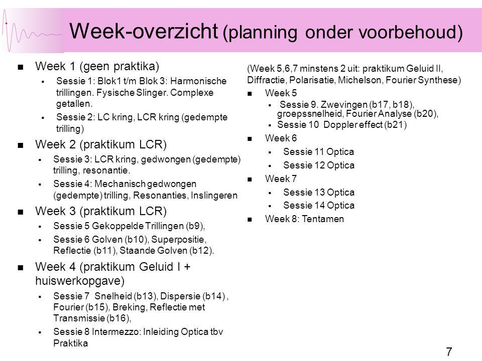 58 Opgave Werkboek 3.8, 3.9, 3.10