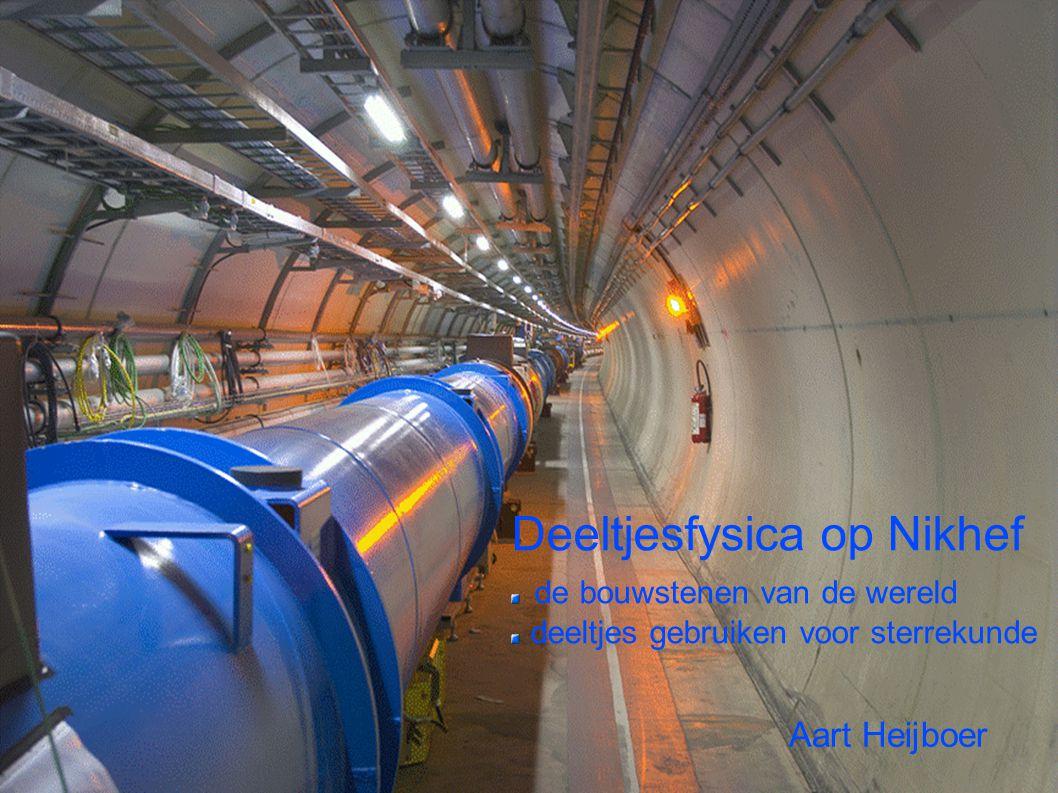 Deeltjesfysica op Nikhef de bouwstenen van de wereld deeltjes gebruiken voor sterrekunde Aart Heijboer