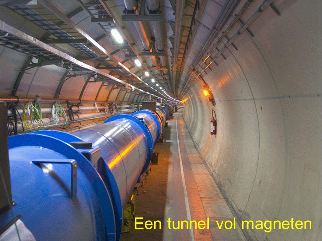 Een tunnel vol magneten