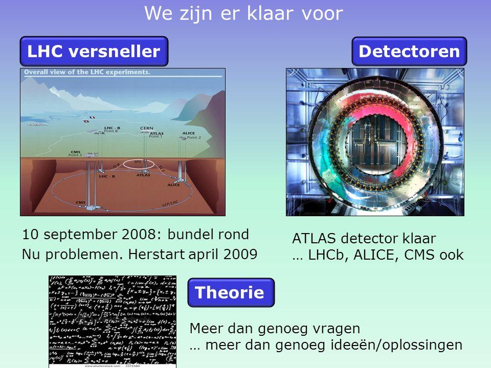 10 september 2008: bundel rond Nu problemen.