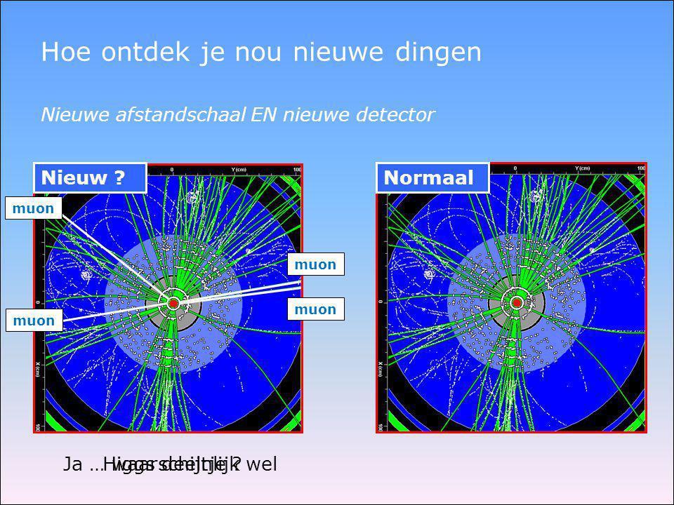 Fotootjes kijken 40 miljoen botsingen per seconde [ruimte voor opslag 200 per seconde] ongeveer 1 Higgs boson per dag 1 naald in 40 miljoen hooibergen …..