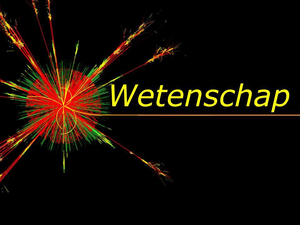Helium (He) Waterstof (H) 2. Samenstelling v/h universum?
