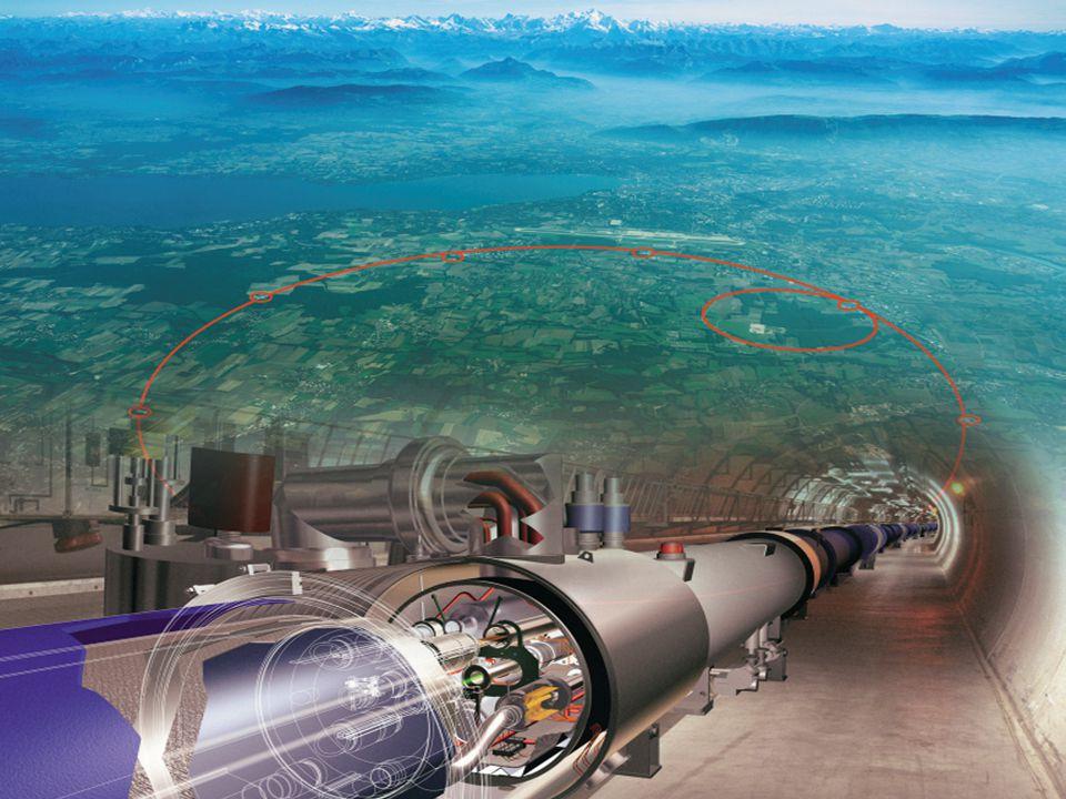 Deeltjesfysica LHC Large Hadron Collider