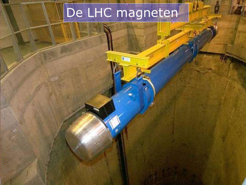 De LHC magneten