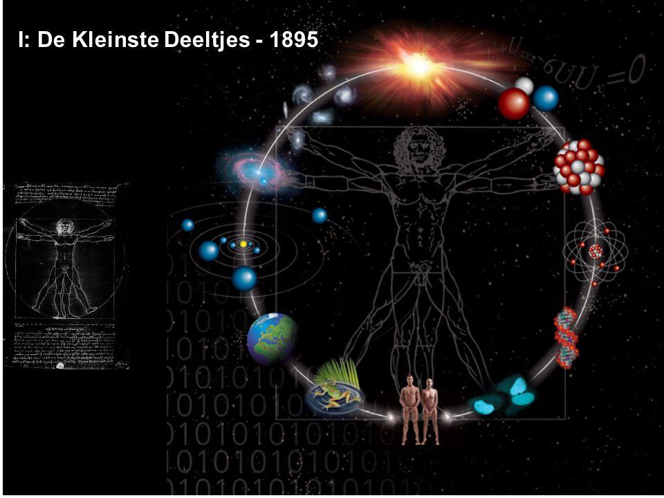 Het einde van de 19e eeuw De Klassieke Natuurkunde – Zwaartekracht - Newton – Electromagnetisme – Maxwell, … – Thermodynamica – Boltzman, ….