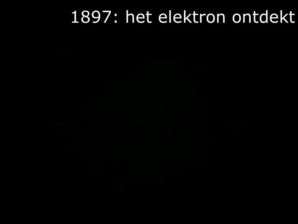 1897: het elektron ontdekt