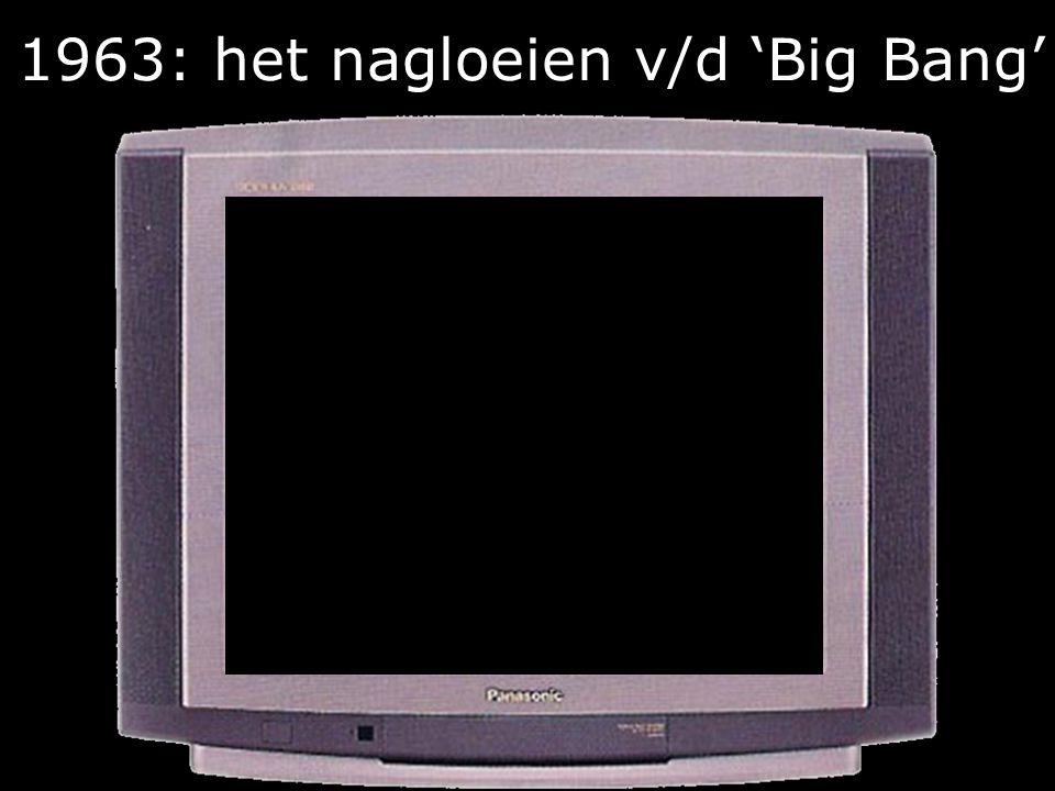 1963: het nagloeien v/d 'Big Bang'