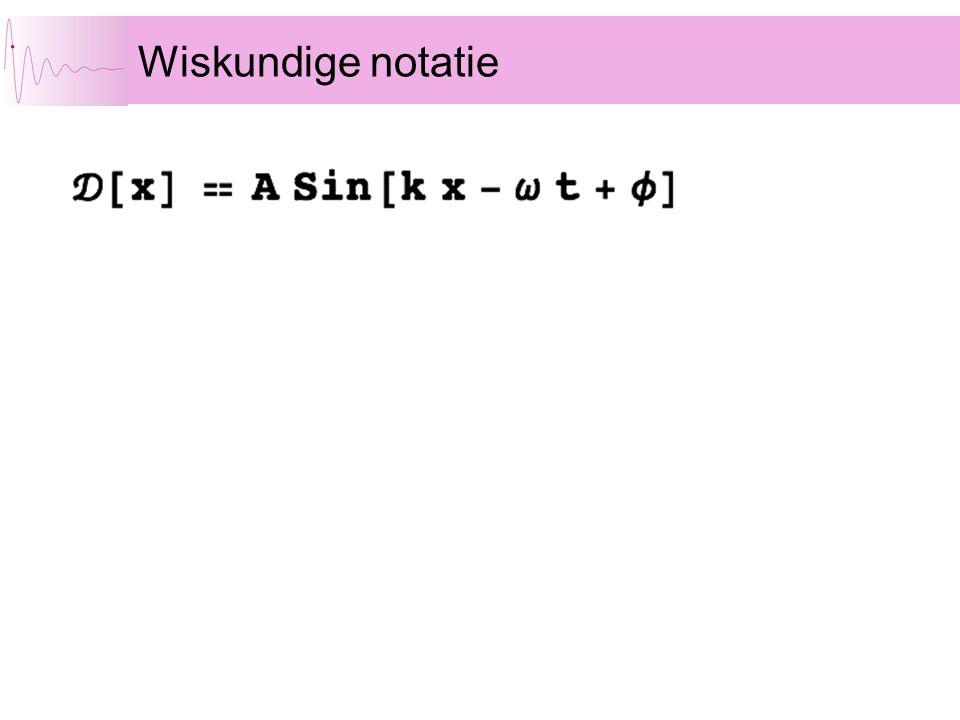 Wiskundige notatie
