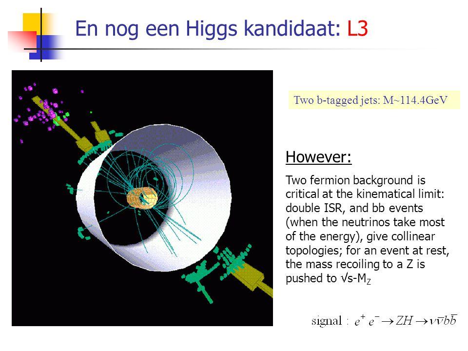 En nog een Higgs kandidaat: ALEPH