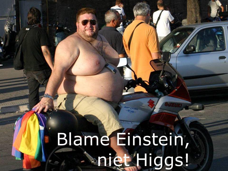 En onze eigen massa. Higgs. Massa v/h koolstof atoom:0.1% elektronen 1.2% quarks … de rest.
