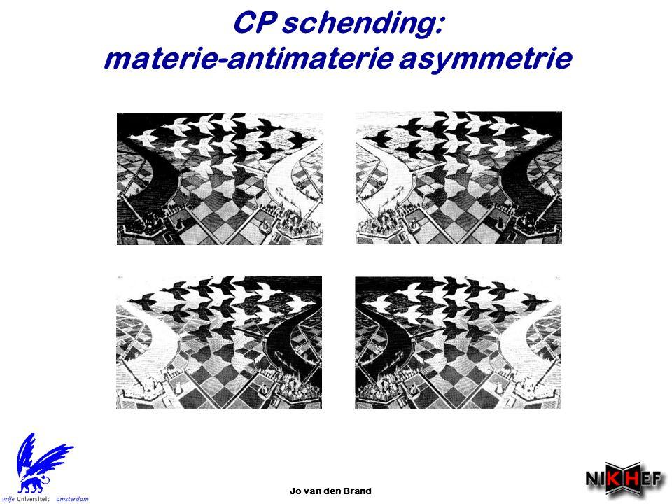 Jo van den Brand CP schending: materie-antimaterie asymmetrie