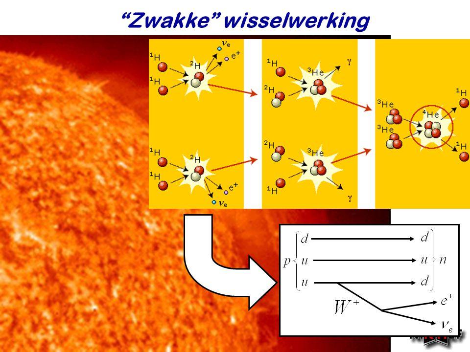 """Najaar 2007Jo van den Brand """"Zwakke"""" wisselwerking"""
