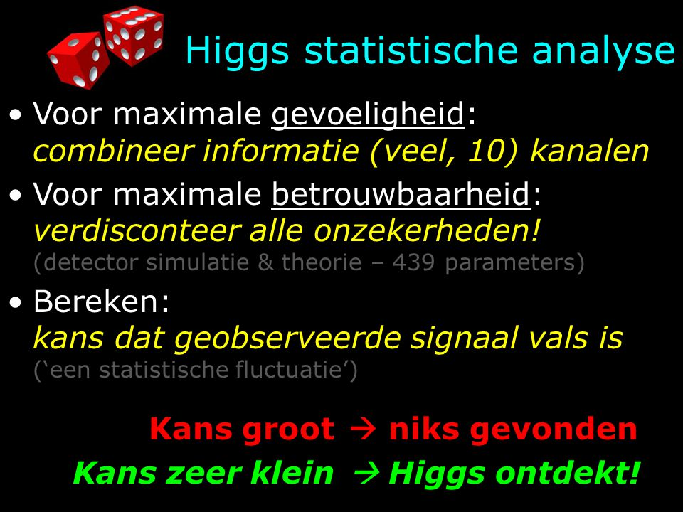HiggsZZ?     real observation (=experiment)